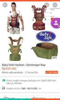 Gendongan bayi merk Baby Safe