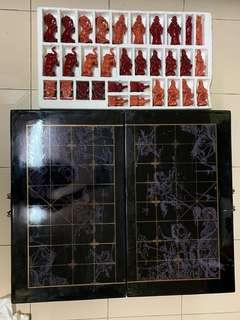 Traditional Chinese chess set
