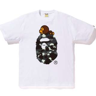 88ffb746 A Bathing Ape minion Milo tee, Men's Fashion, Clothes, Tops on Carousell