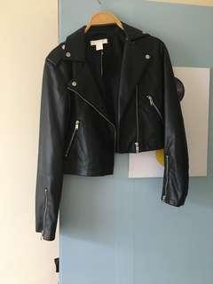 H&M 皮外套