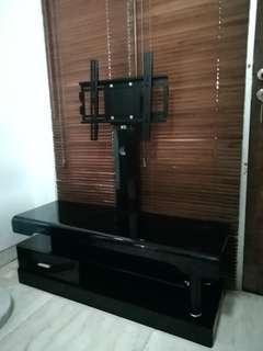 Jual Murah! TV Cabinet kaca dengan Standing TV LED Bracket