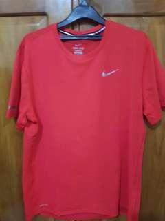 Kaos Gym Merk Nike Original size L