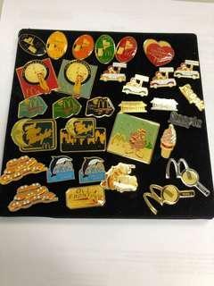 麥當勞pins每個60元