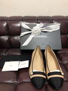 全新chanel shoe new Sz 38.5 (full set)