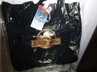 💯🆕️👍🏻兩用 JURASSIC WORLD 手提斜揹袋斜咩袋手袋 tote + shoulder bag