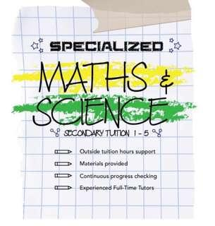 Woodlands Tuition For Maths & Science (Secondary Level)