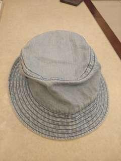 🚚 無印良品 muji  牛仔漁夫帽 100%棉 #衣櫃大掃除