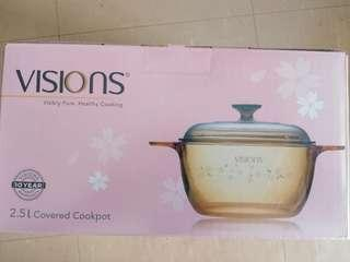 BN Visions 2.5 sakura covered cookpot