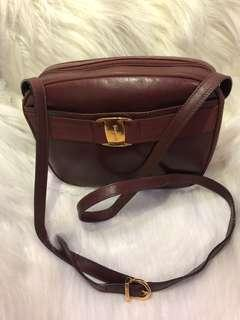 Salvatore ferragamo authentic sling bag