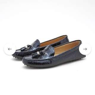 Sacoor Brothers women loafers drivers boat shoe