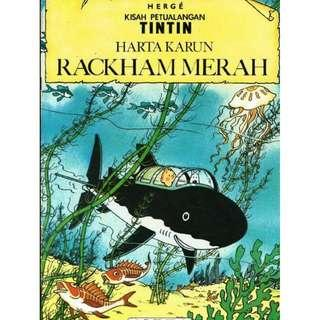 ( eBook Komik ) Tintin 07 Harta Karun Rackham Merah