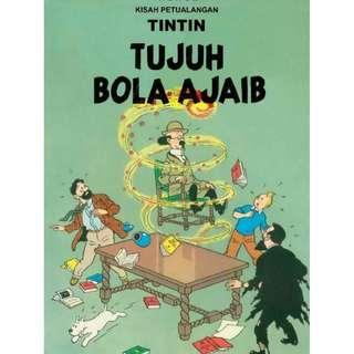 ( eBook Komik ) Tintin 08 Tujuh Bola Ajaib