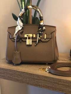 Hermes Style Birkin Bag small