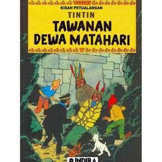 ( eBook Komik ) Tintin 09 Tawanan Dewa Matahari