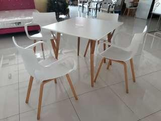 Chairs and table on sale