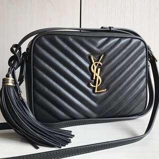 Saint Laurent Lou Camera Bag In Matelassé Leather