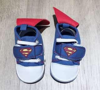 🚚 全新超人11cm軟底學步鞋
