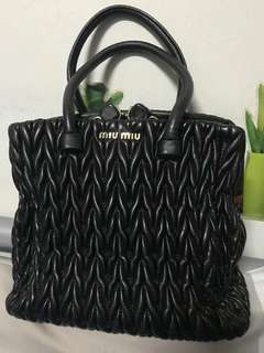 fcb02684ba14 Authentic MiuMiu Bag