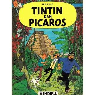 ( eBook Komik ) 10 Tintin dan Picaros