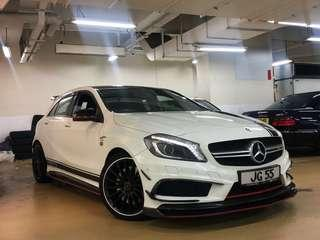MERCEDES-BENZ A45 AMG Edition one 2015