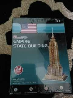 Free✈️New York Empire building tower puzzle