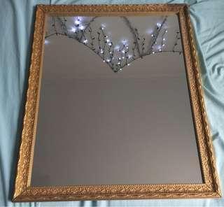 Medium Antique Gold mirror