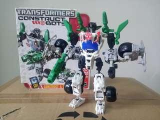 中古 變形金剛 Transformers Construct Bots Wheeljack