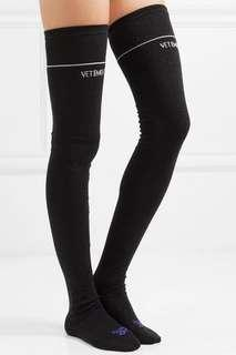 VETEMENTS over the knee socks