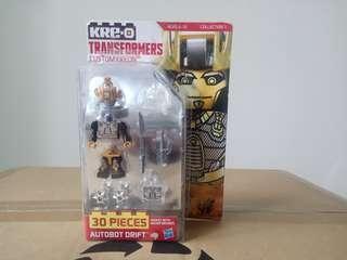 中古 變形金剛 Transformers KRE-O Drift