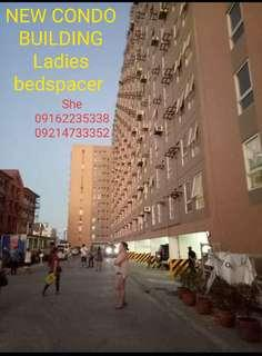New condo Bedspacer for female only in manila