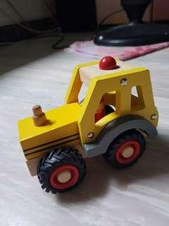 Toy Car tractor