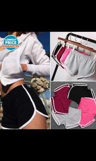 (NO INSTOCKS!)Preorder korean uzzlang Running Shorts* waiting time 15 days after payment is made*chat to buy to order