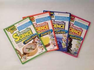 Upper Block Thematic Science Process Skills Worksheets (P5/6)