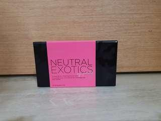 Neutral Exotics Eye Palette
