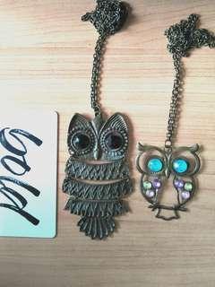 Owl Necklaces #idotrades