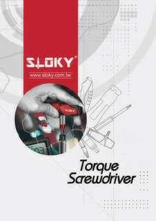 Sloky torque screwdriver_Easy customization from 0.1 Nm to 18 Nm Spec