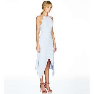 Talulah Maison Midi Dress Blue rrp$240