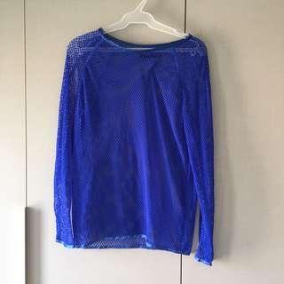 Preloved Blue Doriane Van Overeem Top