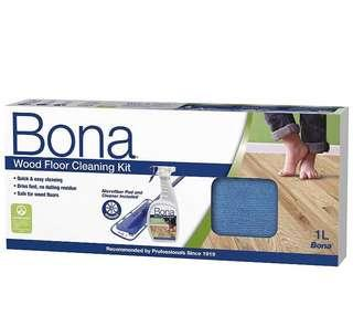 BNIB Bona Mop Wood Cleaning Kit