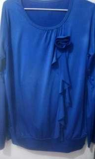 Jersey hijab biru cerah