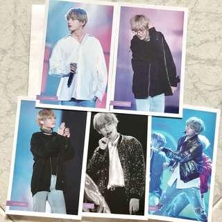 BTS V Postcards