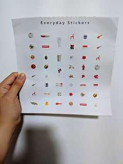 Singapore Everyday Stickers