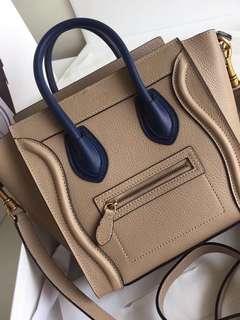 Celine Nano Luggage Bag