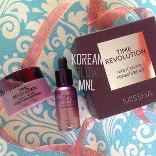 Missha Time Revolution Night Repair Probio Mini Kit