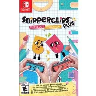 Nintendo Switch Snipperclips Plus - Cut it out together!