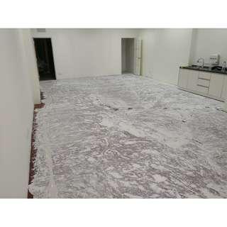 vinyl flooring lantai timber spc/laminate alternative
