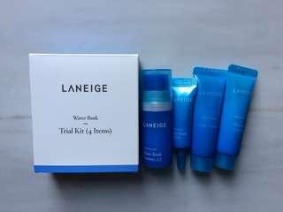 (NEW) Laneige Water Bank Trial Kit (4 items)