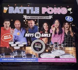 Battle Pong Drinking Game