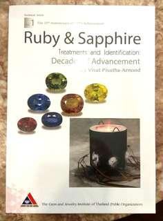 Ruby & Sapphire Book (By Gem & Jewellery Institute of Thailand)