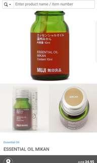 Muji Essential Oil - for aroma diffuser
